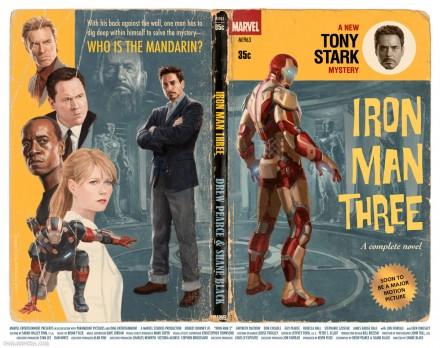 Iron Man 3 Paperback Poster